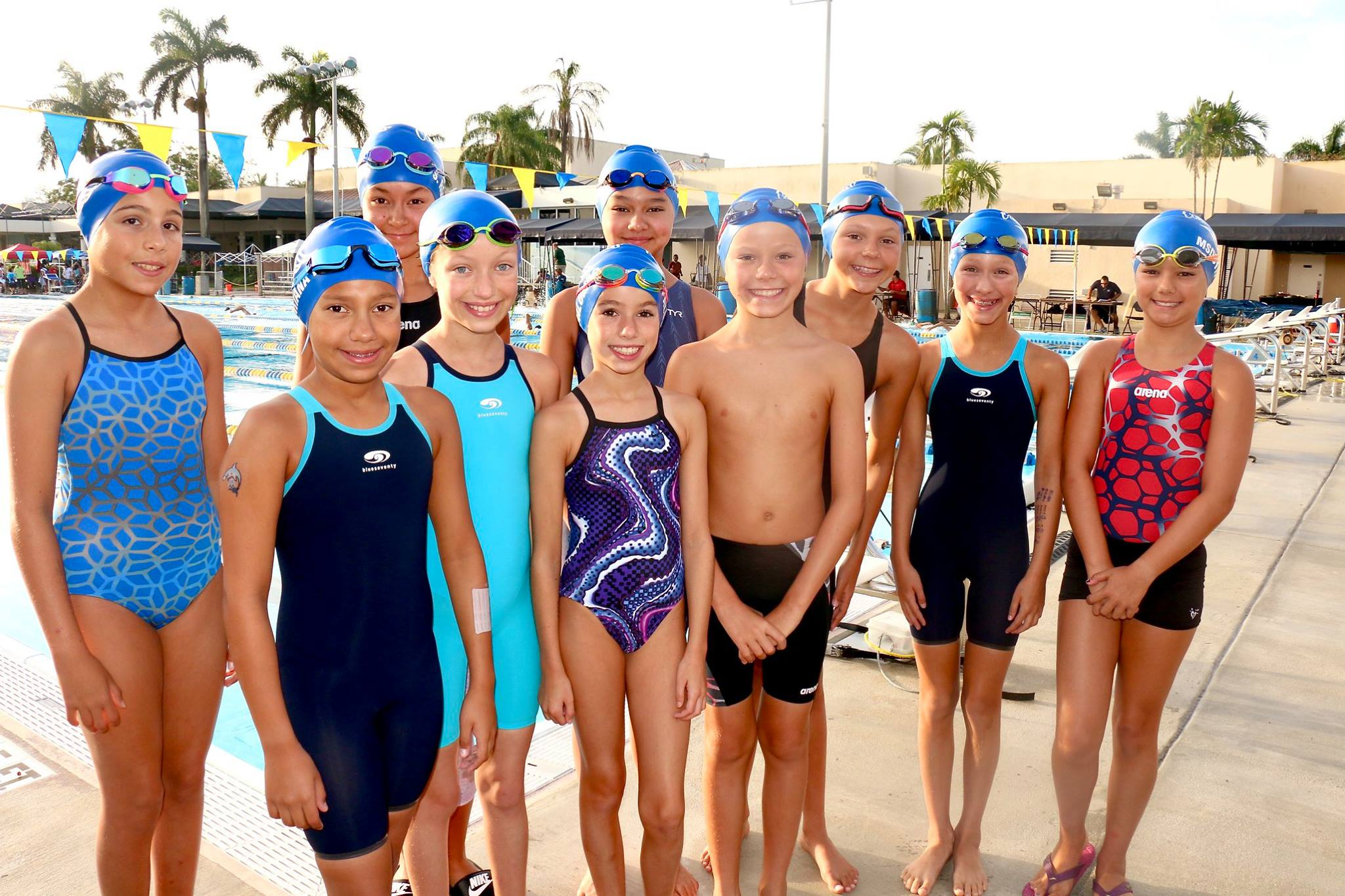 coral springs fl swim meet